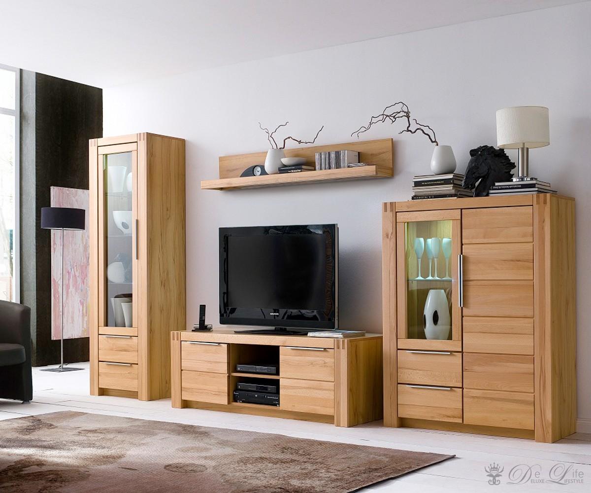 wohnwand eiche landhaus die neuesten innenarchitekturideen. Black Bedroom Furniture Sets. Home Design Ideas
