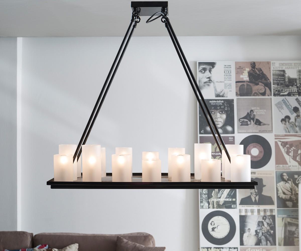 gro er kronleuchter 9 flammig k niglicher l ster klar acrylglas e14 kerzen barock deckenlampe. Black Bedroom Furniture Sets. Home Design Ideas