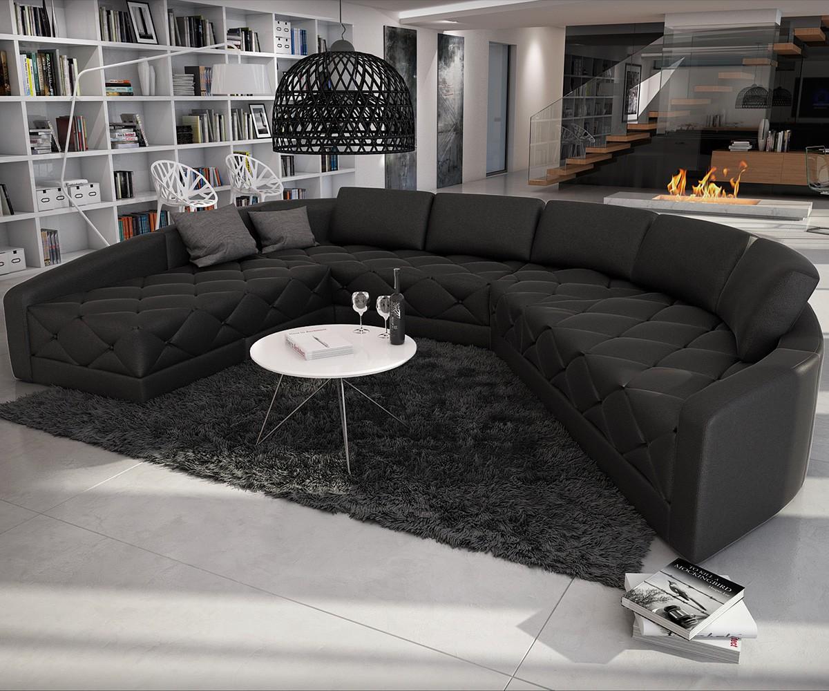 wohnlandschaft rund. Black Bedroom Furniture Sets. Home Design Ideas