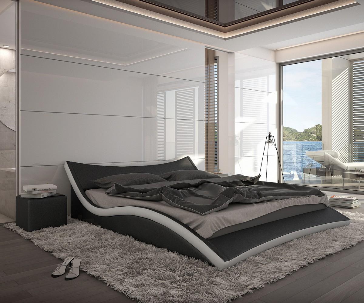 schlafzimmer schwarz weiss g nstig kaufen. Black Bedroom Furniture Sets. Home Design Ideas