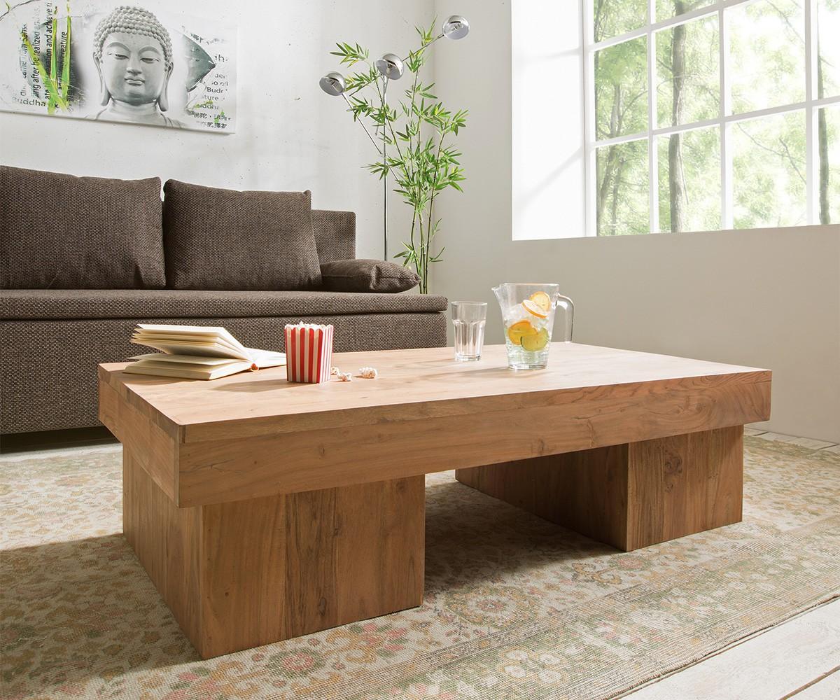 preisvergleich eu couchtisch akazie stone. Black Bedroom Furniture Sets. Home Design Ideas