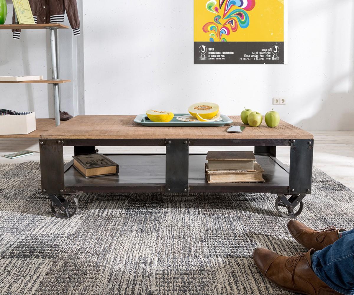 wohnzimmertisch mit rollen kreative ideen f r ihr. Black Bedroom Furniture Sets. Home Design Ideas