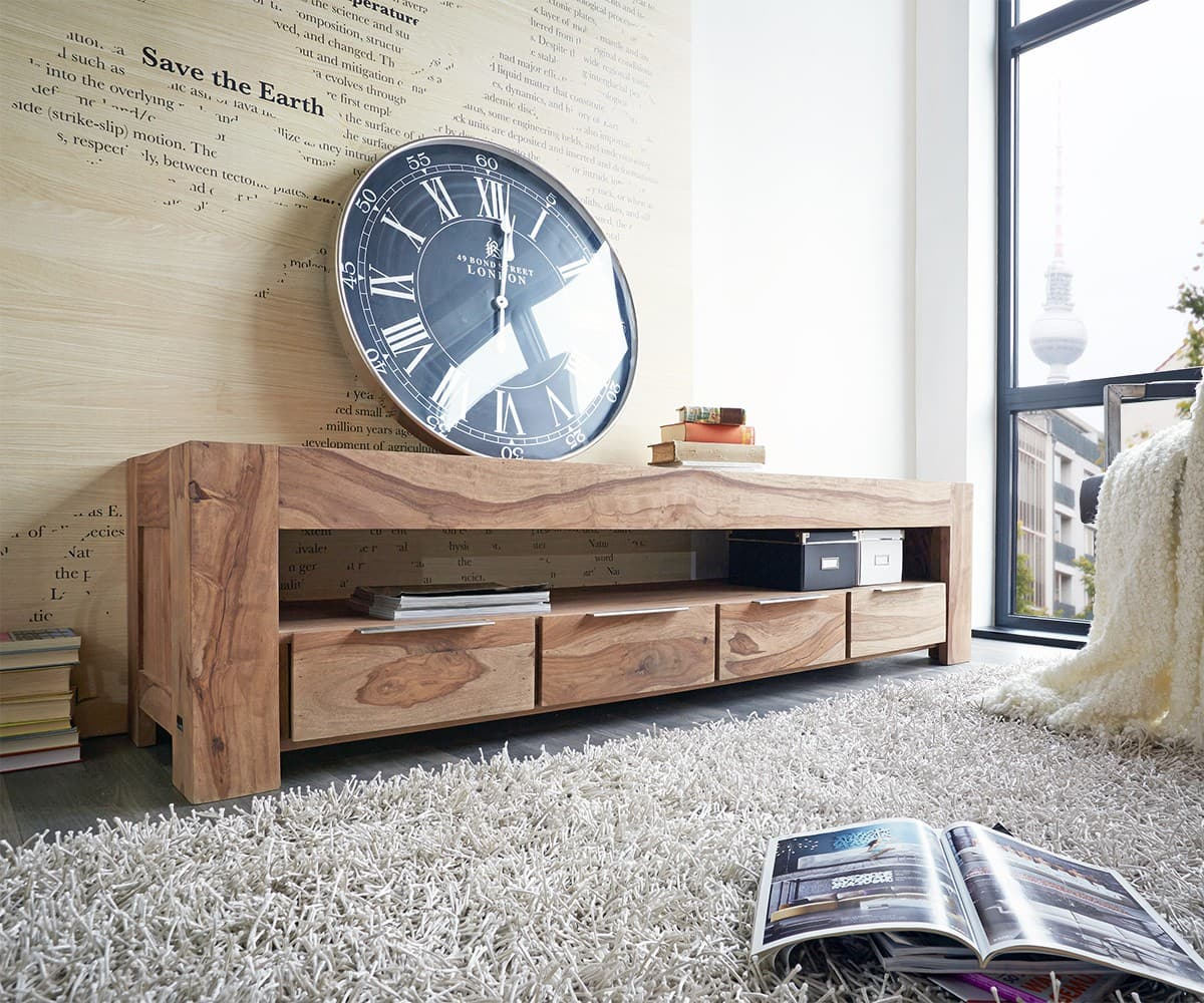 fernsehtische aus holz g nstig kaufen. Black Bedroom Furniture Sets. Home Design Ideas