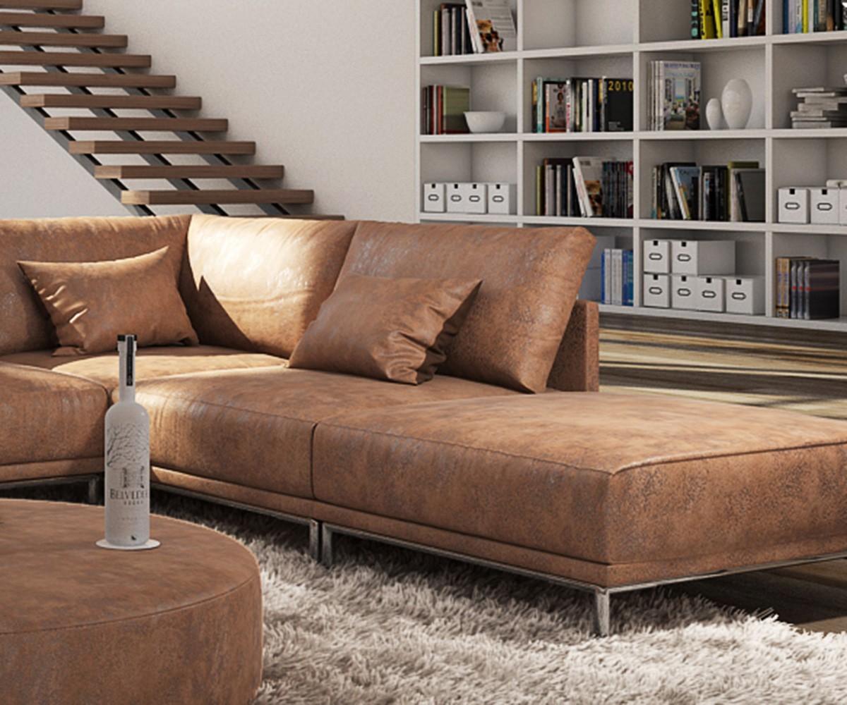 ecksofa wildlederoptik bestseller shop f r m bel und einrichtungen. Black Bedroom Furniture Sets. Home Design Ideas