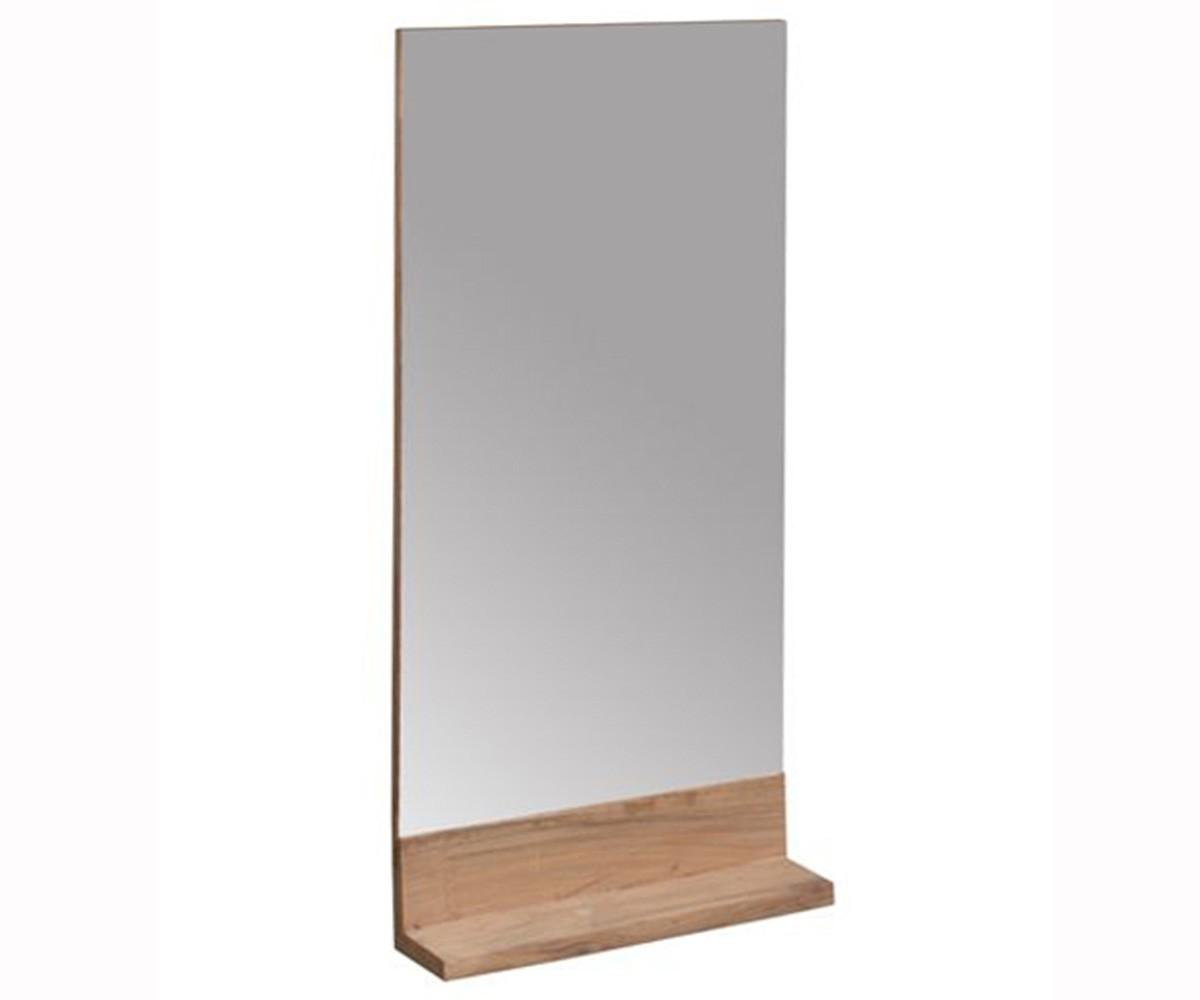 Spiegel holz ablage sonstige preisvergleiche for Spiegel 70x80
