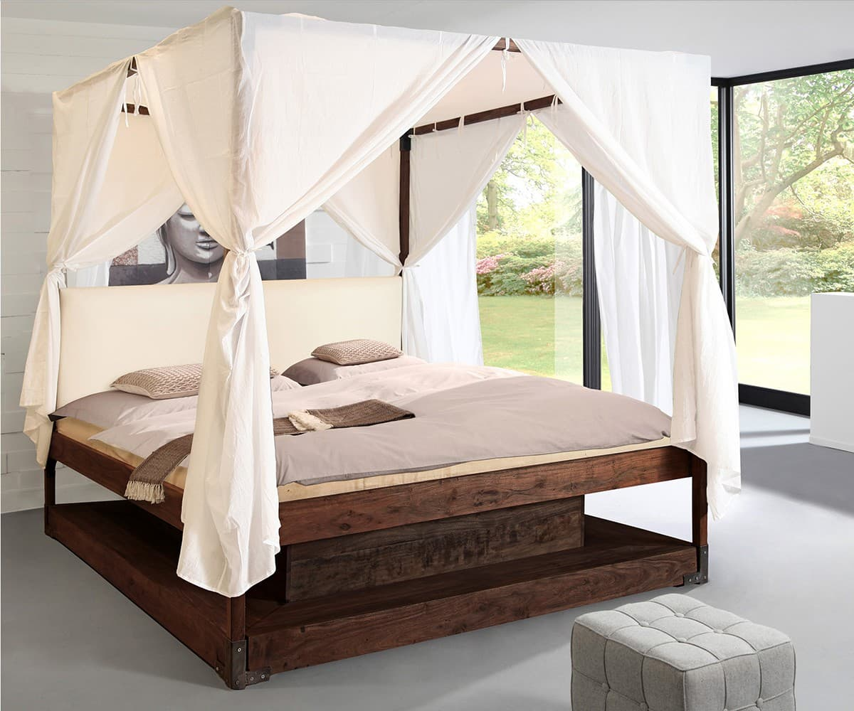 himmelbett stoff wohndesign und inneneinrichtung. Black Bedroom Furniture Sets. Home Design Ideas