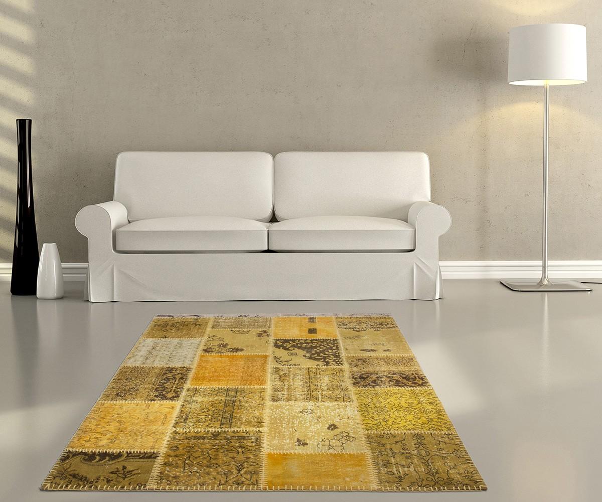 Patchwork Teppich  DeLife  Preisvergleiche