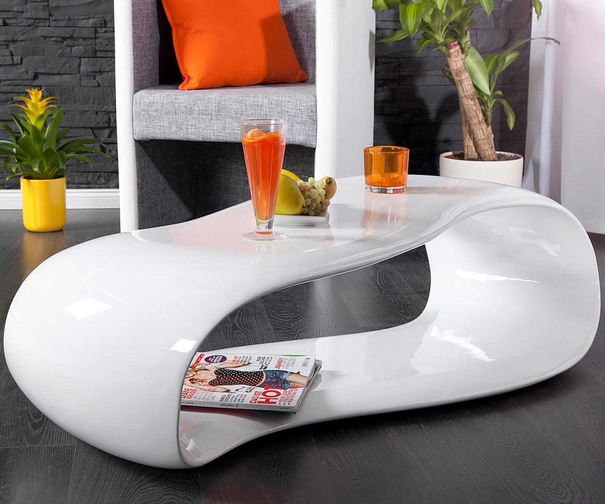 couchtisch segatus 120x60 cm weiss hochglanz | ebay - Wohnzimmertisch Weis
