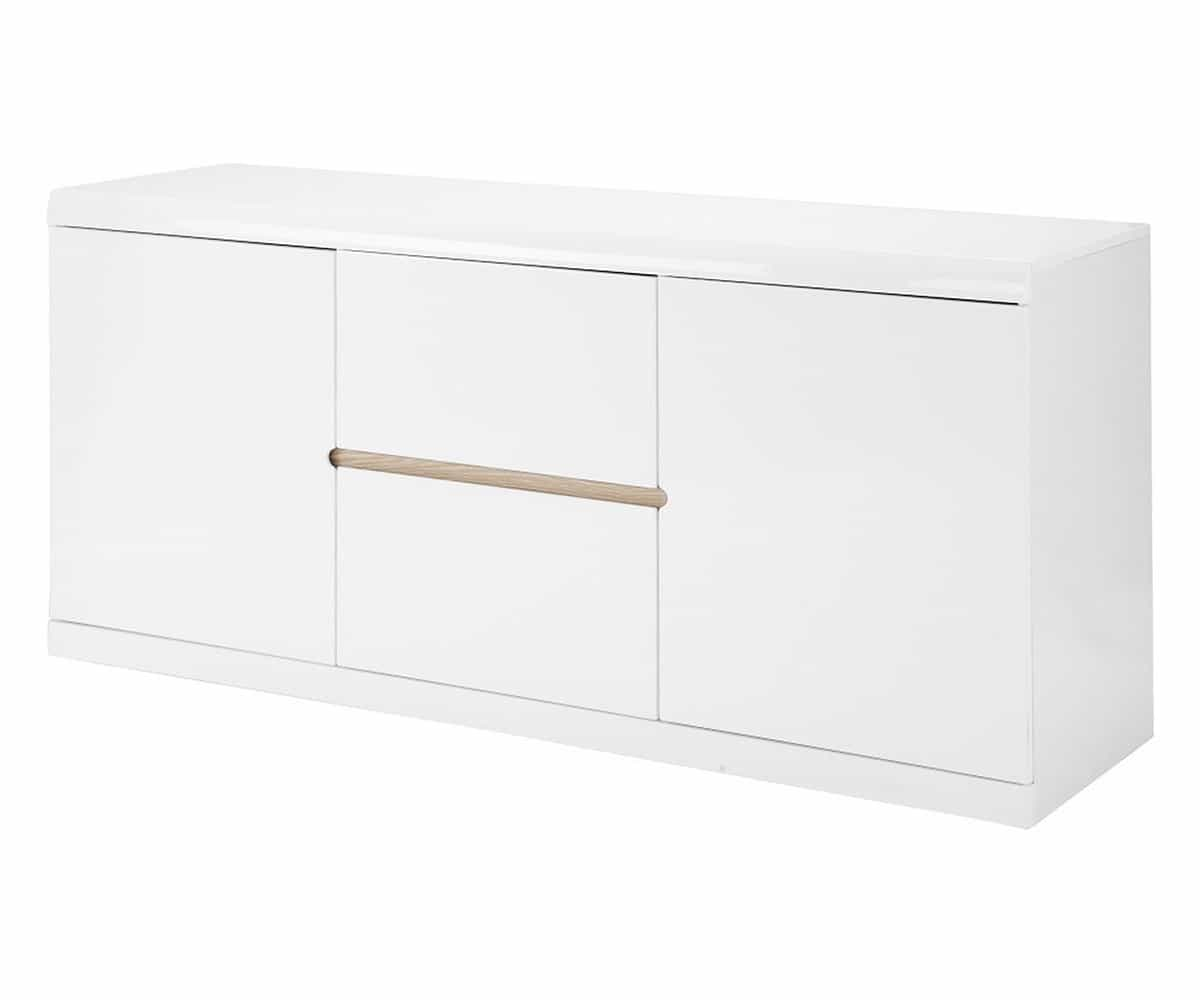 preisvergleich eu weiss hochgl nzend sideboard. Black Bedroom Furniture Sets. Home Design Ideas